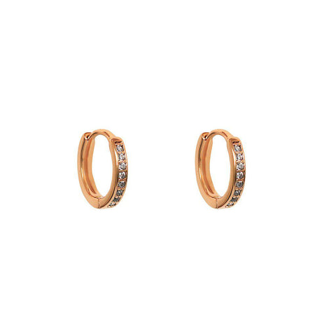 MIM 18K ROSE GOLD PLATED HUGGIES
