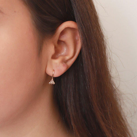 NARIO GOLD EARRINGS