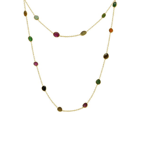 Nyla semi-precious necklace