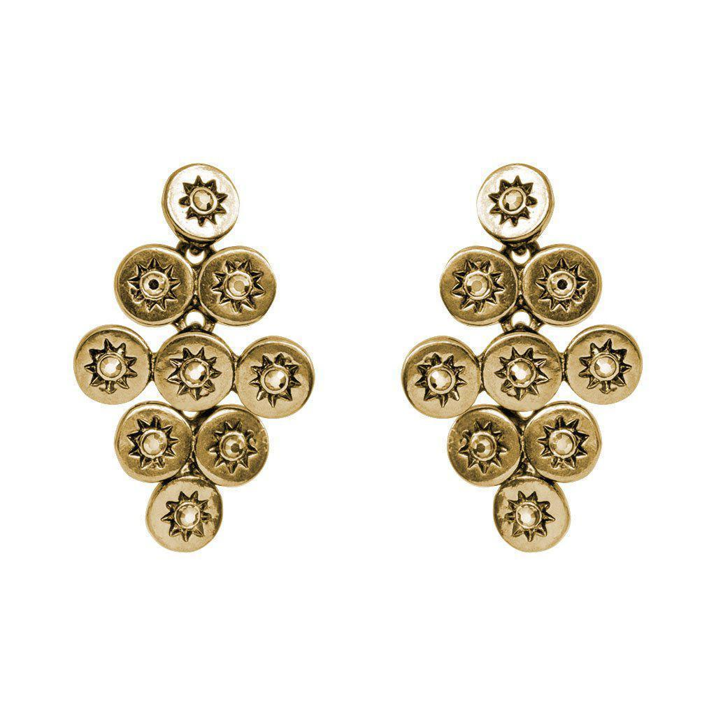 PEDRINA GOLD EARRINGS