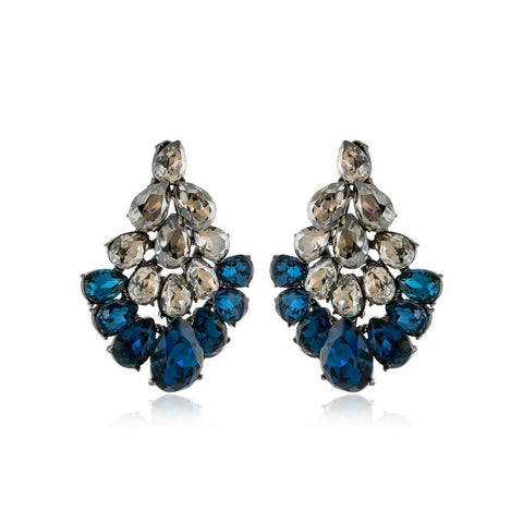 PETRA MONTANA CRYSTAL EARRINGS-Earrings-MEZI