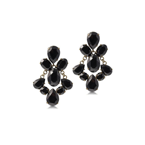 PETULA BLACK MEZI EARRINGS-MEZI