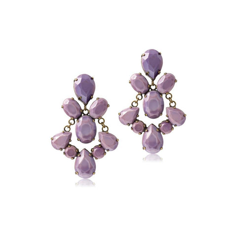 PETULA PURPLE MEZI EARRINGS-Earrings-MEZI