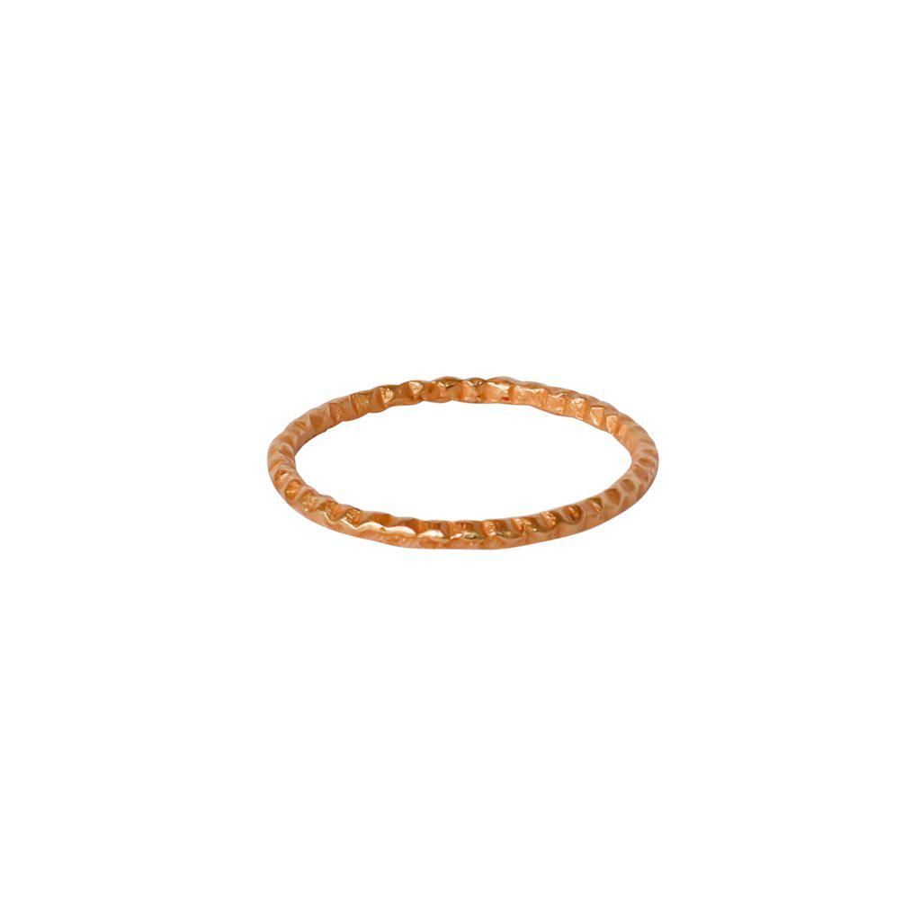 POLOMA 2-MICRON ROSE GOLD RING
