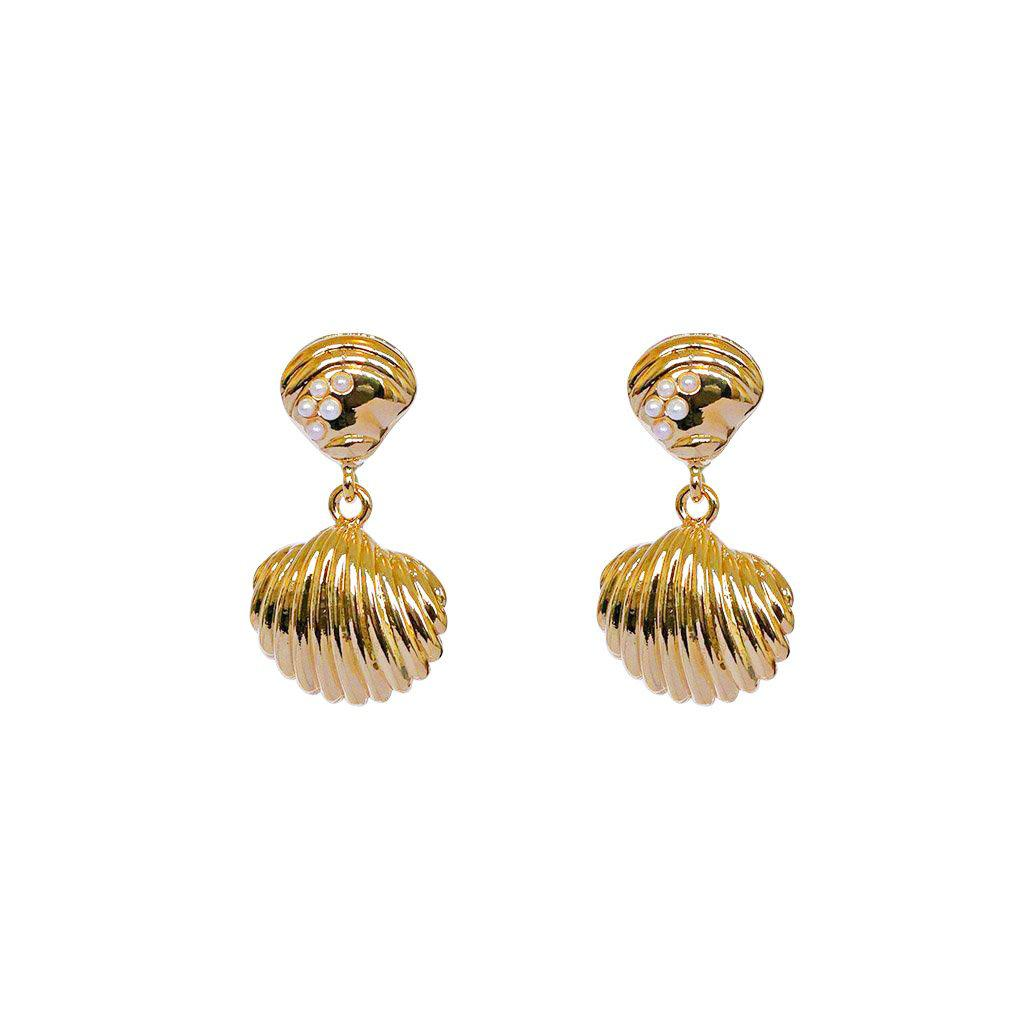 QUINN SHELL EARRINGS