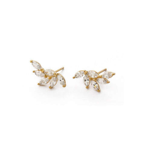 RAVYN GOLD CRAWLERS-Earrings-MEZI