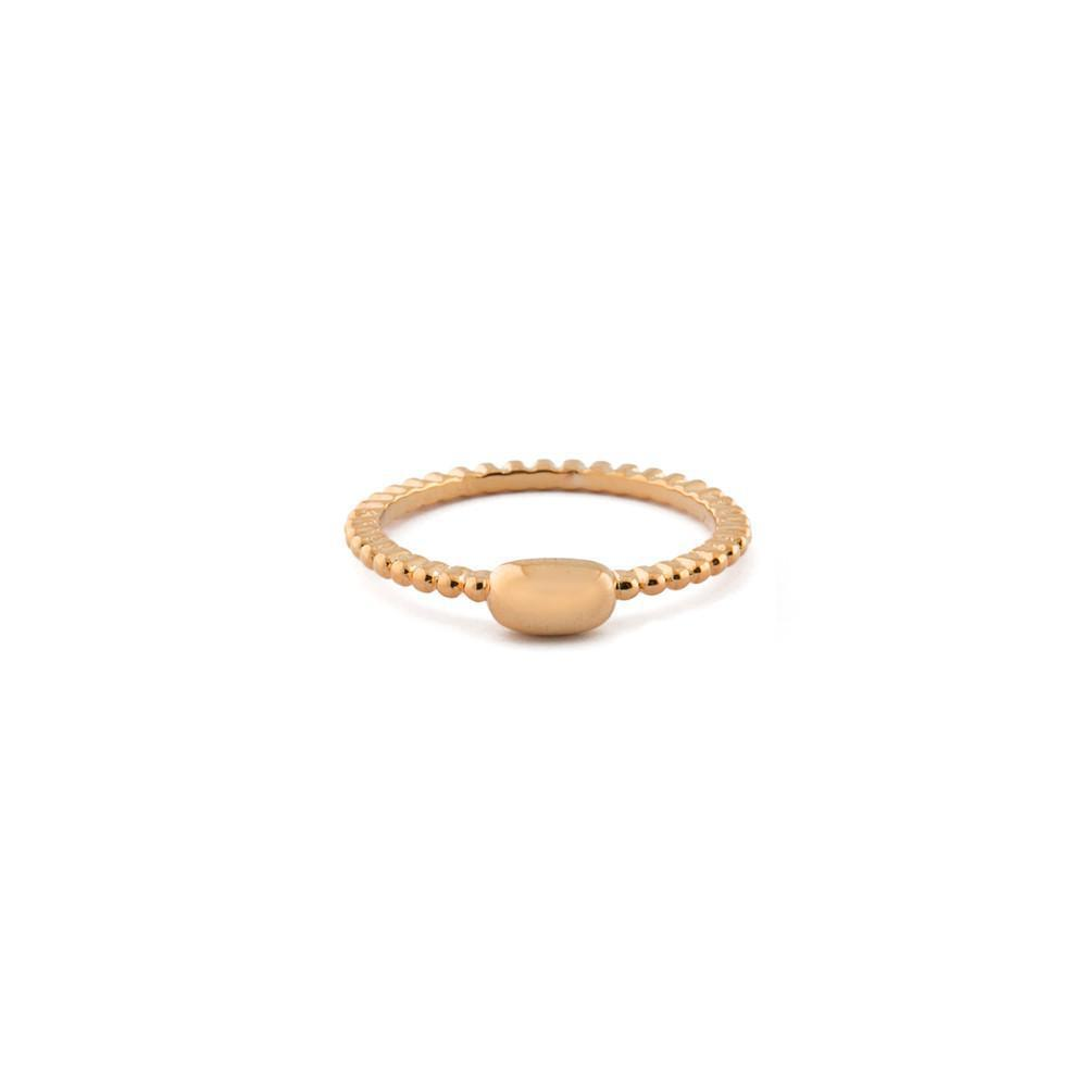 REESE ROSE GOLD PLAIN RING-Rings-MEZI