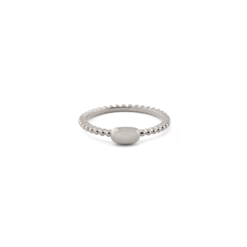 REESE SILVER PLAIN RING