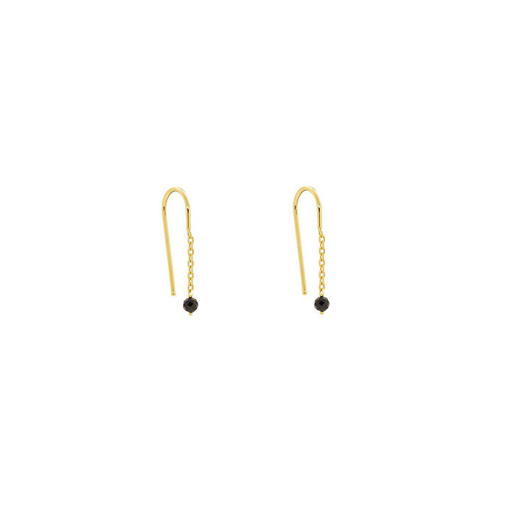 RIGEL GOLD HOOK EARRINGS