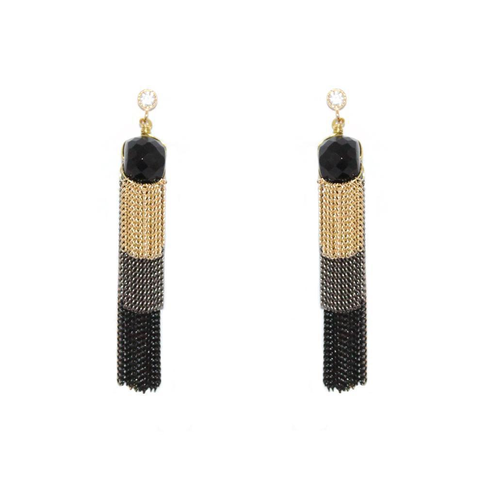 RINA TASSEL EARRINGS