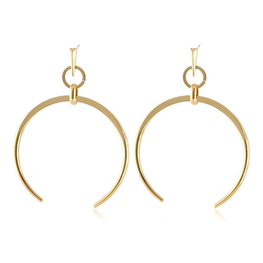 RORI GOLD HORSESHOE EARRING