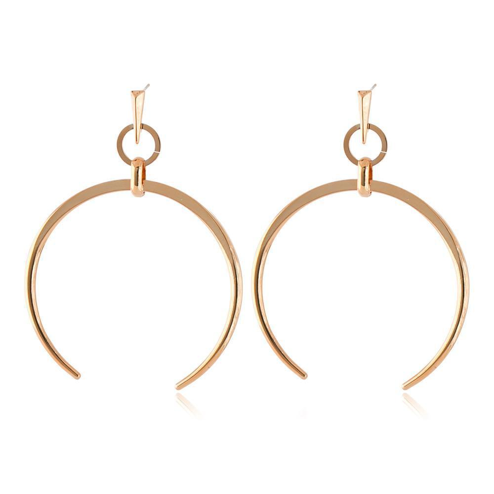 RORI ROSE GOLD HORSESHOE EARRING