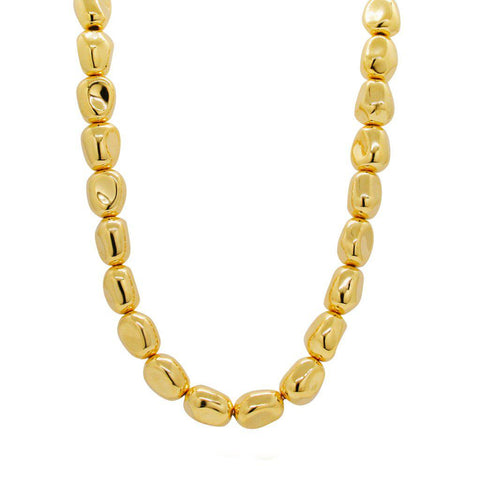 ROUX GOLD BALL NECKLACE