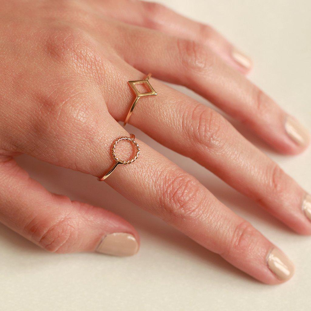 SADIE GOLD FILLED RING