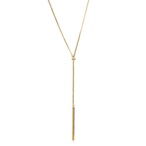 SAM GOLD LARIET NECKLACE-Necklaces-MEZI