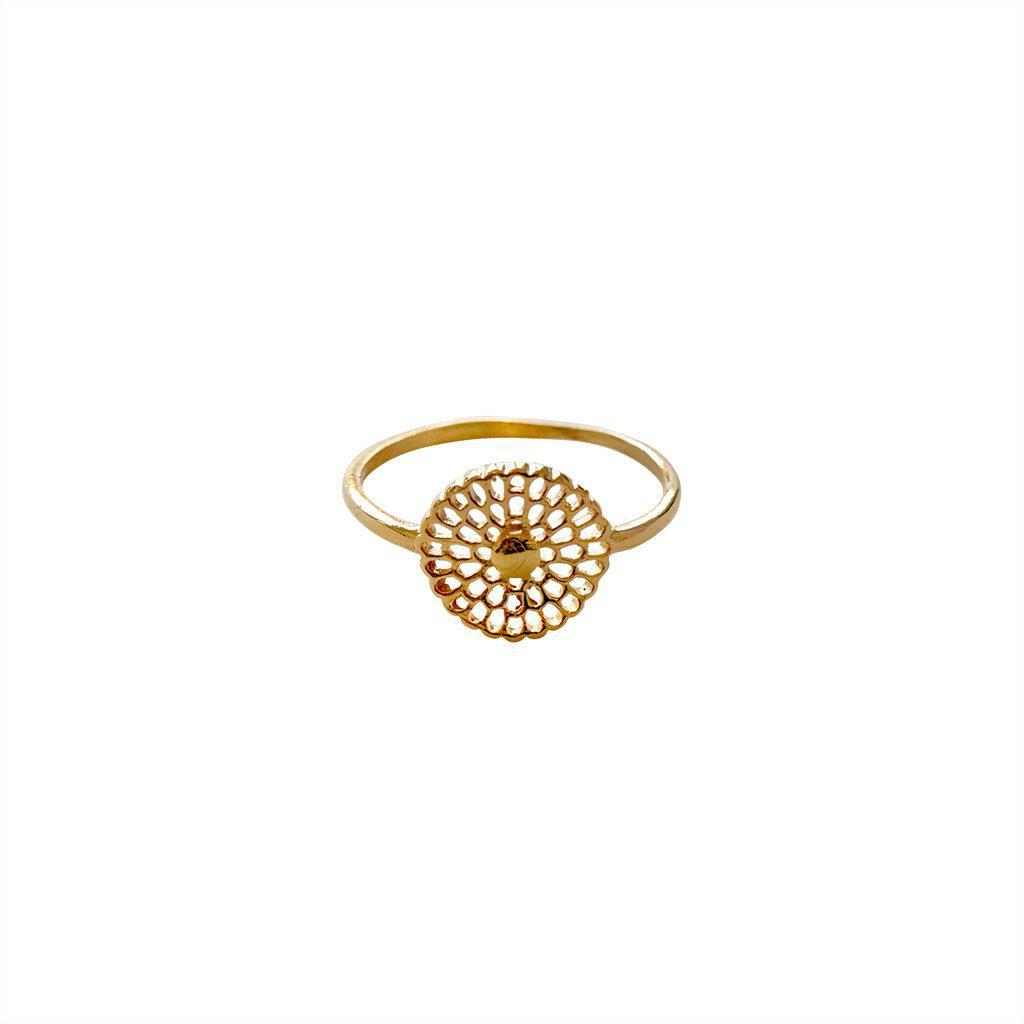 SAMALAH GOLD FILLED RING