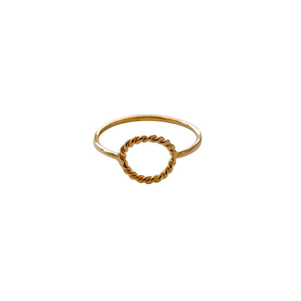 SHAY GOLD FILLED RING