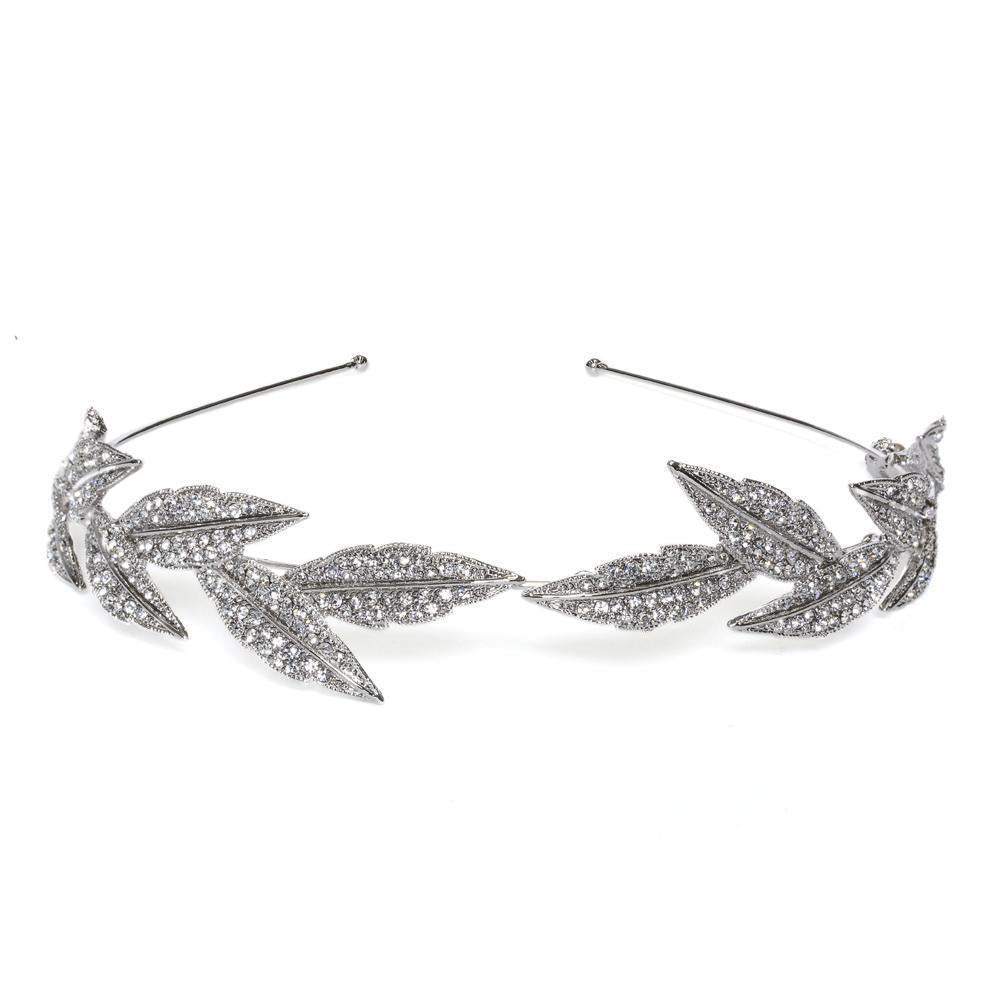 SIENA CRYSTAL HEADPIECE-Headpieces-MEZI