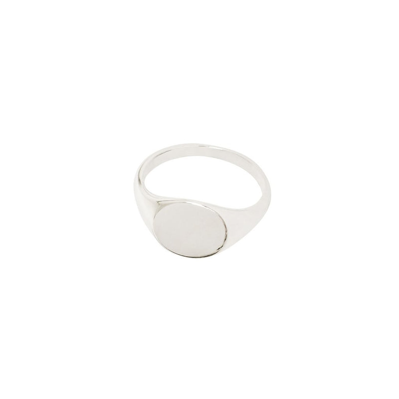 SIGNET STERLING SILVER RING