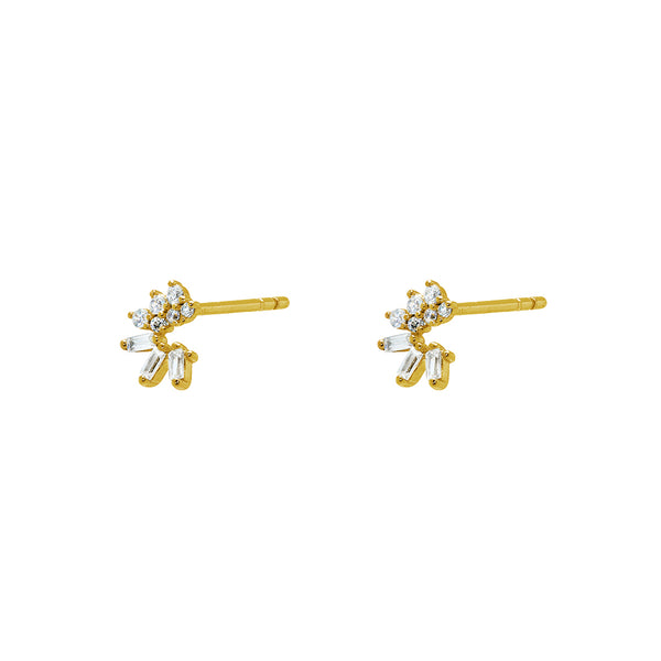 Silas crystal studs
