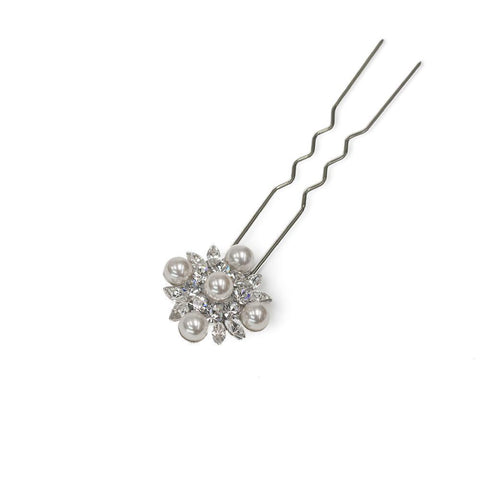 SOPHIA CRYSTAL HAIR PIN-Headpieces-MEZI