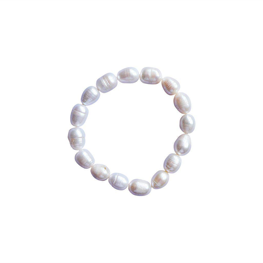 TIRA FRESH WATER PEARL STRETCH BRACELET