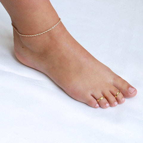 DONNA GOLD TOE RING