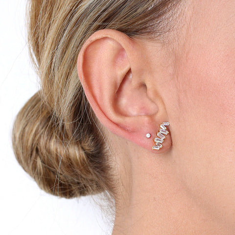 VALERIA GOLD EARRING-Earrings-MEZI
