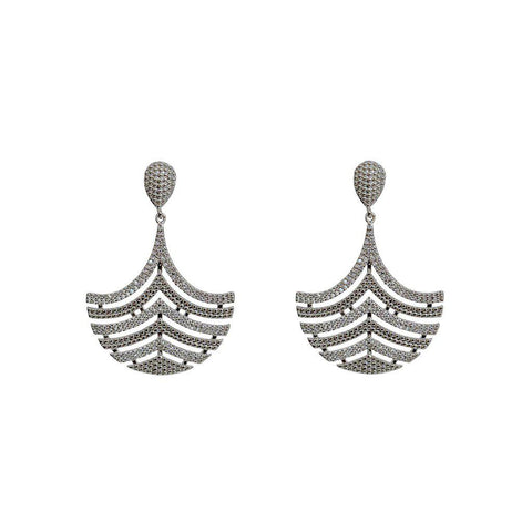 VIDA CRYSTAL DROP EARRINGS