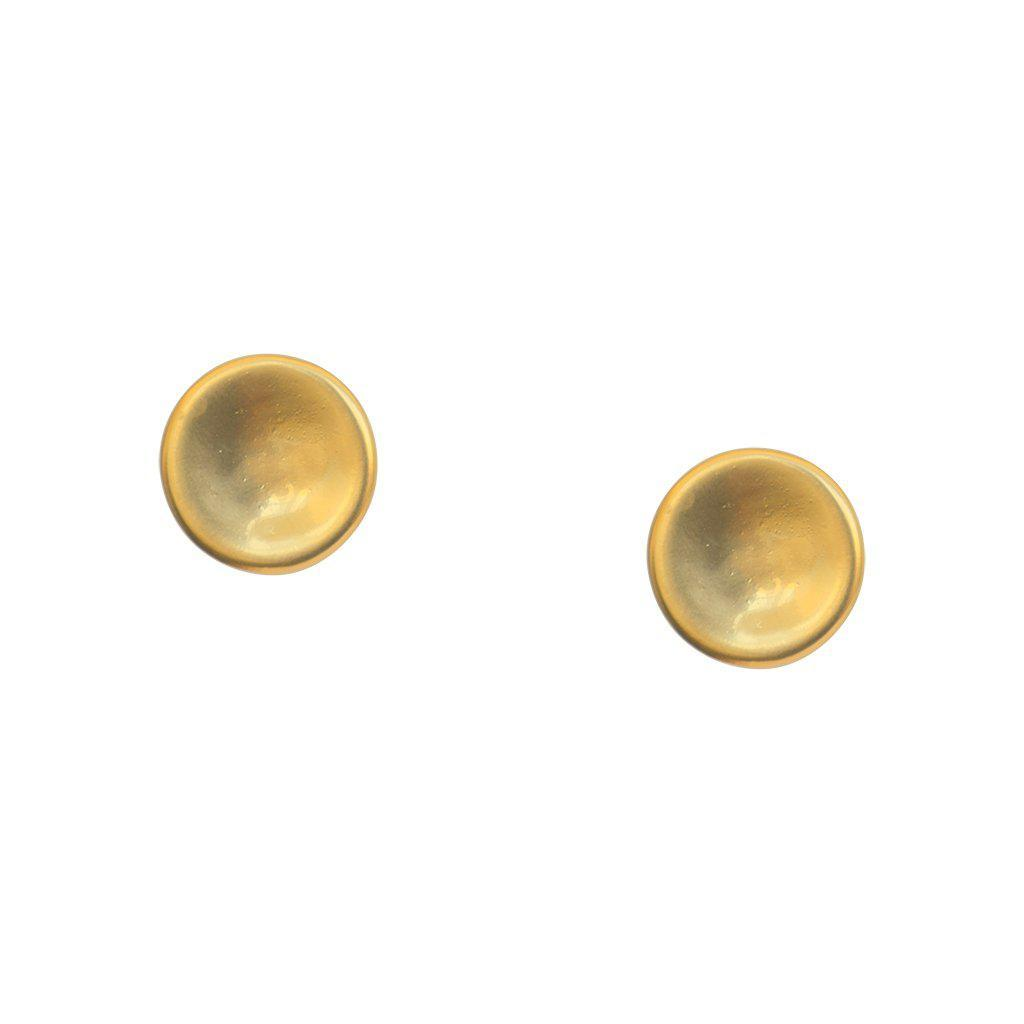 VIVECA GOLD PLATED STUDS EARRINGS