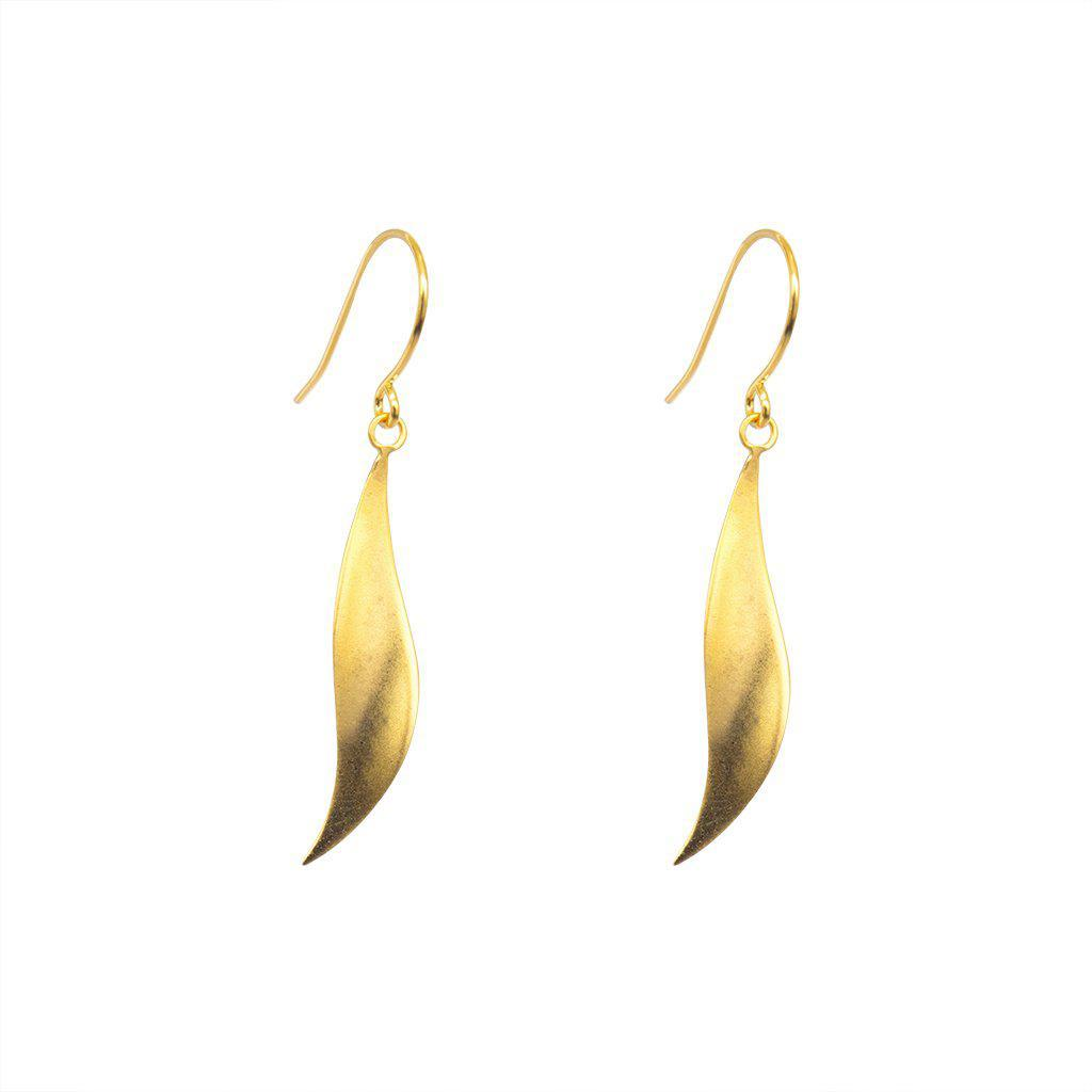 VOLE 2MICRON GOLD PLATED EARRINGS
