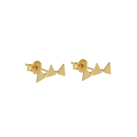 YASER TRIANGLE 2 MICRON GOLD CRAWLERS
