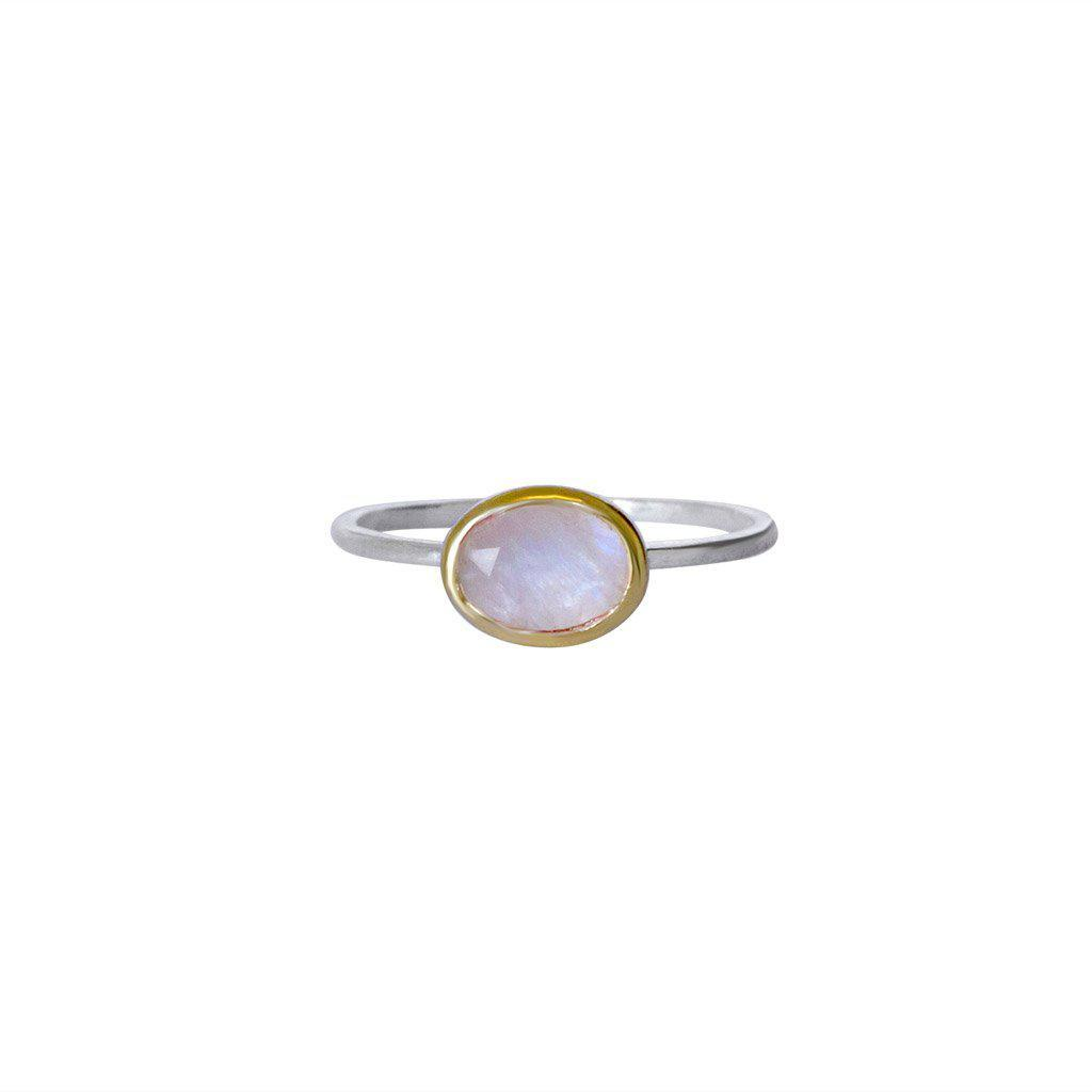 YETTA ROSE QUARTZ SEMI-PRECIOUS RING