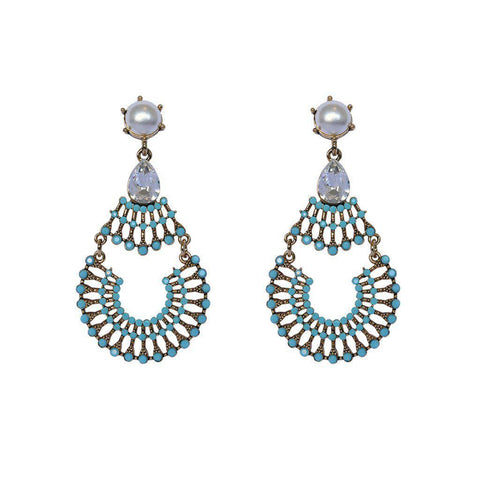 ZELTA CRYSTAL EARRINGS