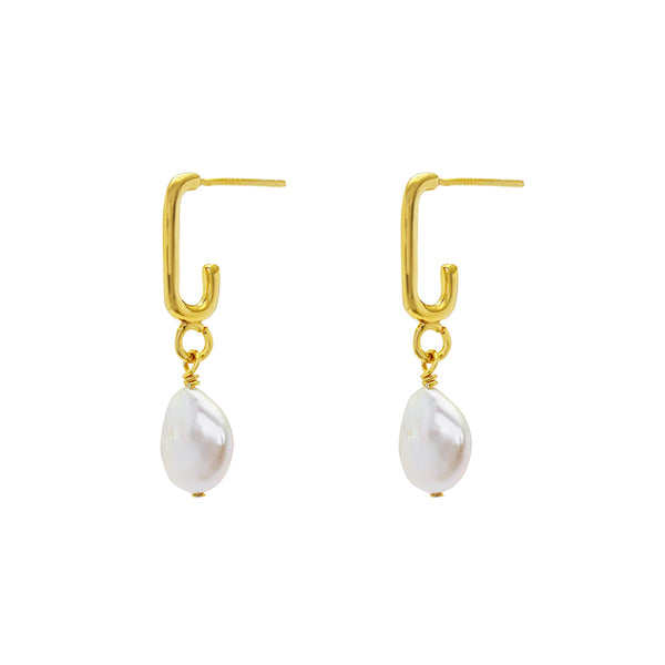 Zina freshwater pearl earrings