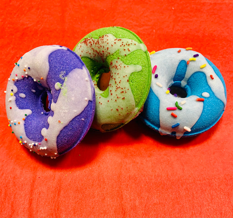 Donut Bath Bombs (3 pack)