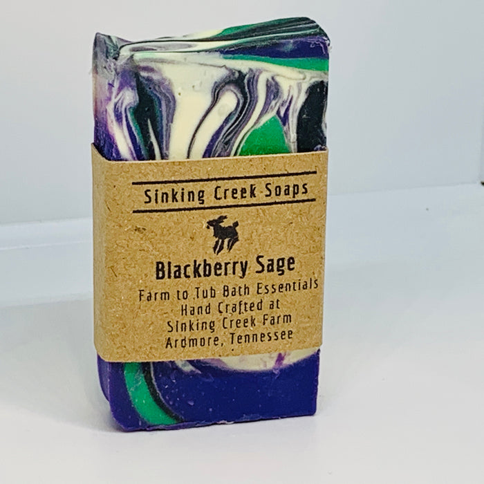 Blackberry Sage Goat Milk Soap