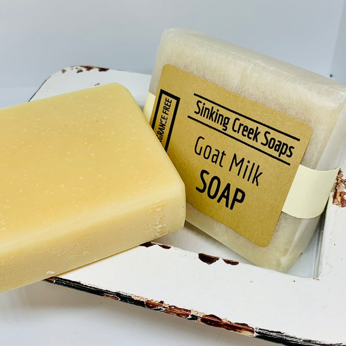 Pure Goat Milk Soap  (Fragrance Free)