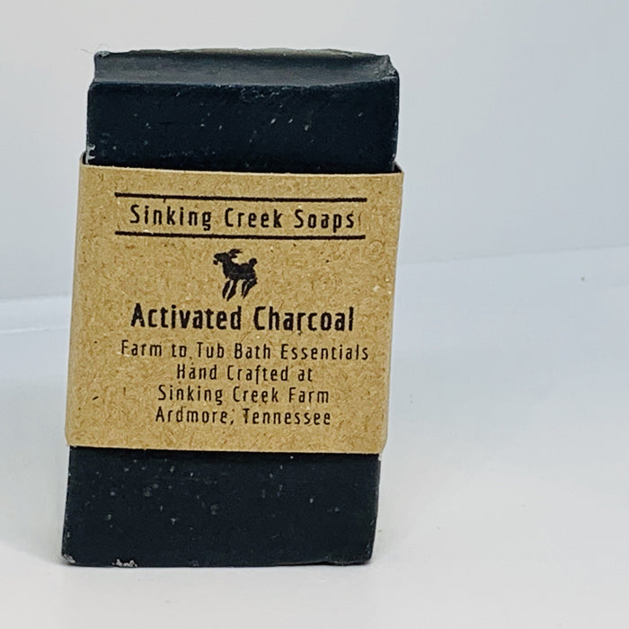 Activated Charcoal Goat Milk Soap (Fragrance Free)