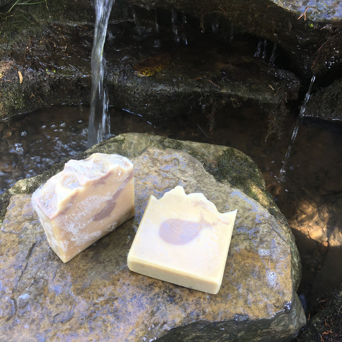 Lemongrass and Lavender Goat Milk Soap