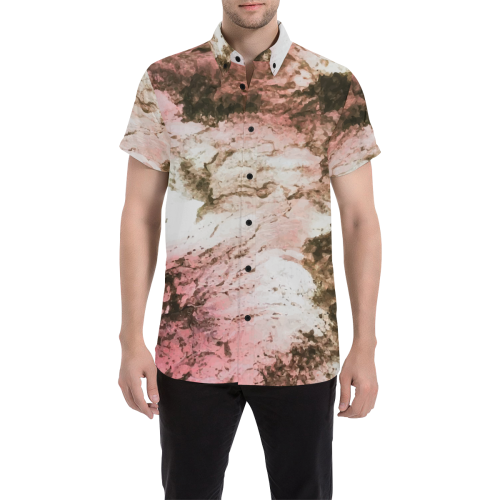 Rosa Oderatta Short Sleeve Button Up