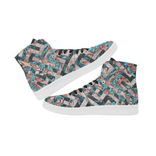 Shadow in a Rose Garden Canvas Sneakers