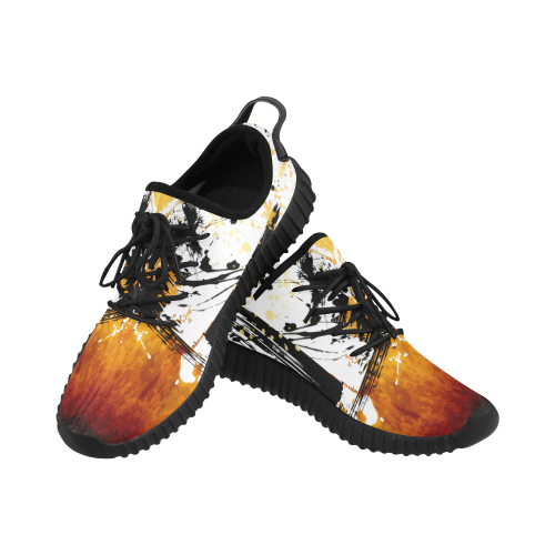 Sunflower Samurai Athletic Shoes