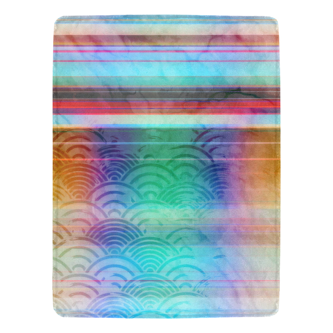 Spectrum Synthesis Ultra-Soft Micro Fleece Blanket 60
