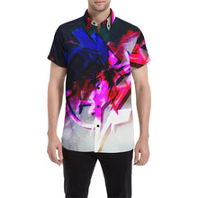 Dream While Awake Short Sleeve Button Up
