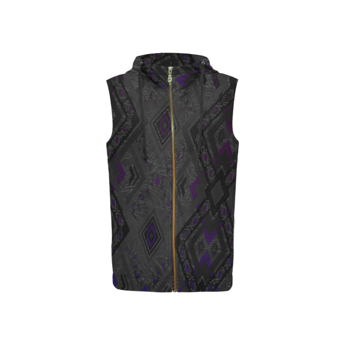 Black Pearl Women's Sleeveless Hoodie