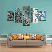 Trouble in Paradise Canvas Wall Art