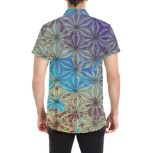 Cosmology Short Sleeve Button Up