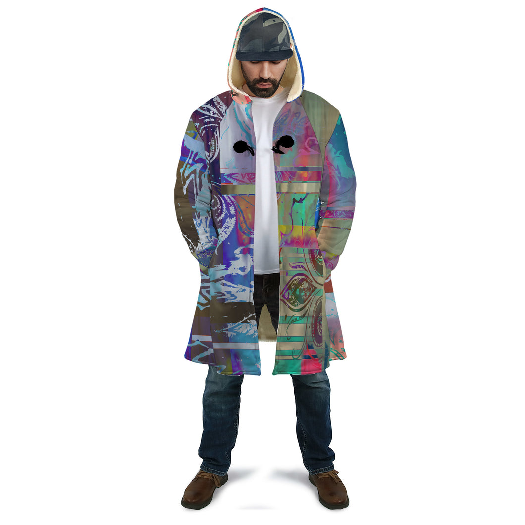 Untitled Sherpa Cloak