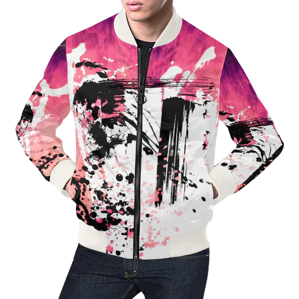 Cherry  Bomb Light Bomber Jacket